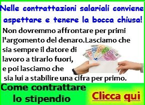 Come contrattare lo stipendio 1