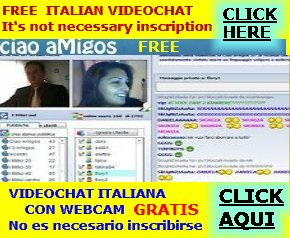 Videochat italiana GRATIS ciao amigos