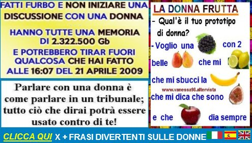 donne frasi divertenti