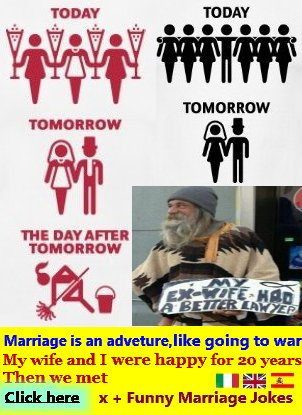funny marriage joke
