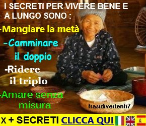 i segreti per una vecchiaia felice