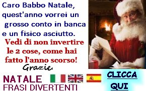 natale frasi divertenti