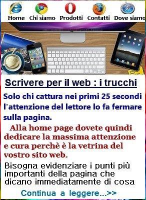 scrivere sito web gratis